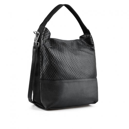 Черна дамска ежедневна чанта Denisse