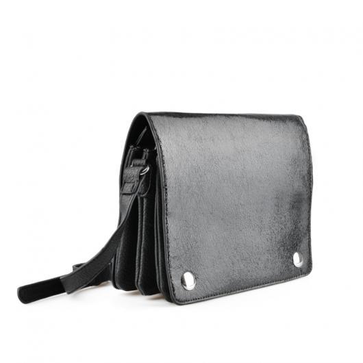 Черна дамска ежедневна чанта Vanitee