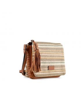 Кафява дамска ежедневна чанта Clovis в online магазин Fashionzona