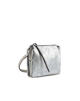 Сребриста дамска еженевна чанта Cam в online магазин Fashionzona
