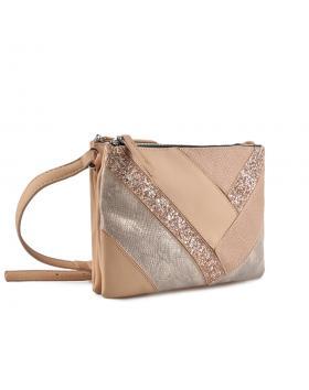 Бежова дамска ежедневна чанта Adalyn в online магазин Fashionzona