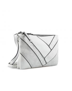 Бяла дамска ежедневна чанта Malia в online магазин Fashionzona