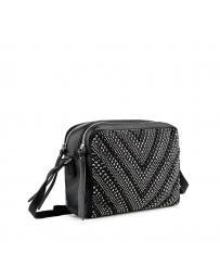 Черна дамска ежедневна чанта Megha