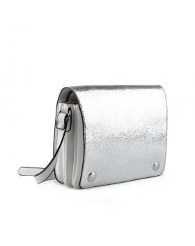 Сребриста дамска ежедневна чанта Lani в online магазин Fashionzona