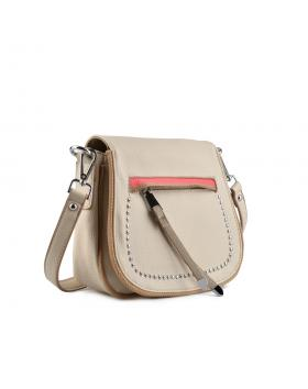 Бежова дамска ежедневна чанта Esme Nayomi Toulya Adriana в online магазин Fashionzona