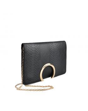 Черна дамска елегантна чанта Clarisse в online магазин Fashionzona