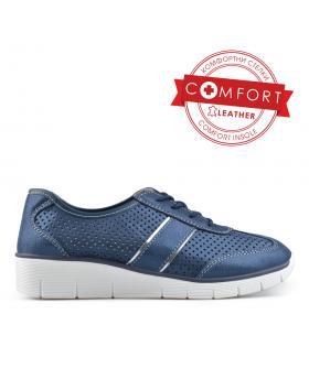Сини дамски ежедневни обувки Charlotte в online магазин Fashionzona