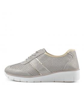 Тъмно бежови дамски ежедневни обувки Xaviell в online магазин Fashionzona