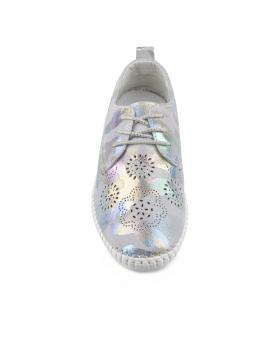 Сребристи ежедневни дамски обувки Galena в online магазин Fashionzona