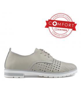 Бежови дамски ежедневни обувки Jaycie в online магазин Fashionzona