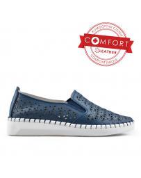 Сини дамски ежедневни обувки 0136426 Joana
