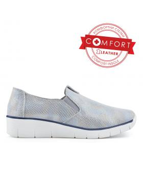 Сребристи дамски ежедневни обувки Constance в online магазин Fashionzona