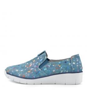 Сини дамски ежедневни обувки Pensee в online магазин Fashionzona