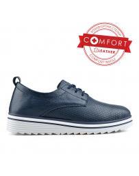 Сини дамски ежедневни обувки Sherryline