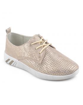Златисти дамски ежедневни обувки Rubi в online магазин Fashionzona