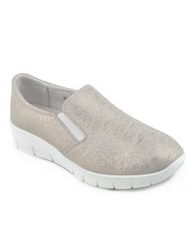 Златисти дамски ежедневни обувки Denize в online магазин Fashionzona