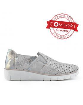 Сиви дамски ежедневни обувки Lindie в online магазин Fashionzona