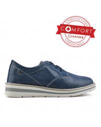 Сини дамски ежедневни обувки Dorine