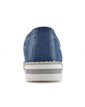Сини дамски ежедневни обувки Dorine в online магазин Fashionzona