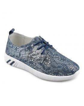 Сини дамски ежедневни обувки Eroiqua в online магазин Fashionzona