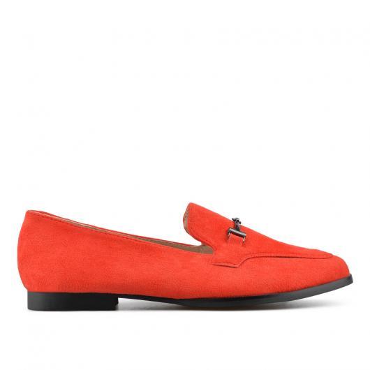 Червени дамски ежедневни обувки Vanessa