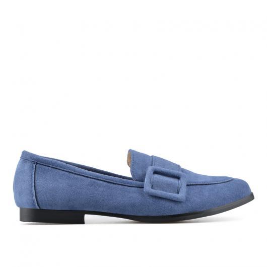 Сини дамски ежедневни обувки Blaize
