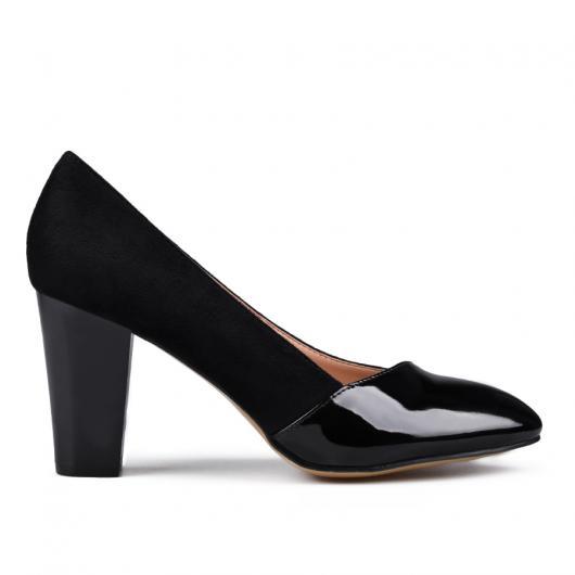 Черни дамски елегантни обувки Marylou