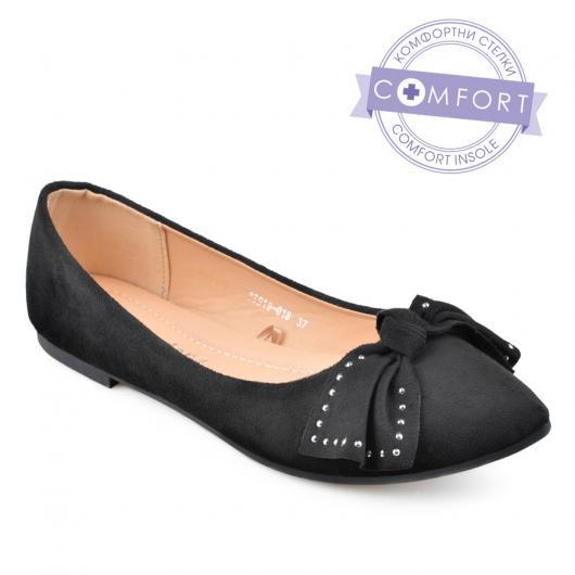 Черни дамски ежедневни обувки Joella