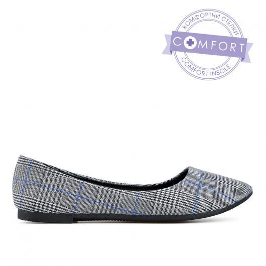 Сиви дамски ежедневни обувки Prity