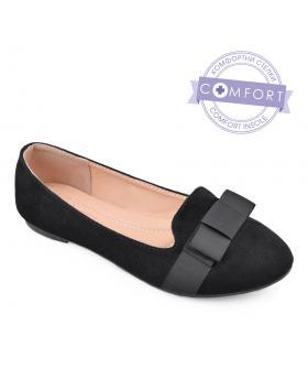 Черни дамски ежедневни обувки Luisana в online магазин Fashionzona