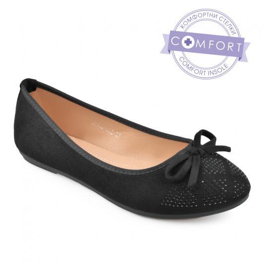 Черни дамски ежедневни обувки Laverne