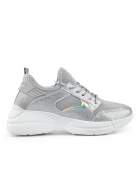 Сиви дамски ежедневни обувки Bonnie в online магазин Fashionzona