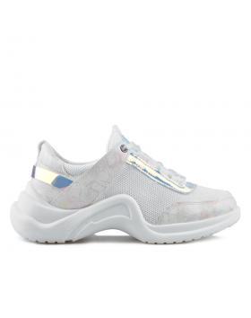 Бели дамски ежедневни обувки Cade в online магазин Fashionzona