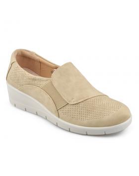 Бежови дамски ежедневни обувки Shirece в online магазин Fashionzona