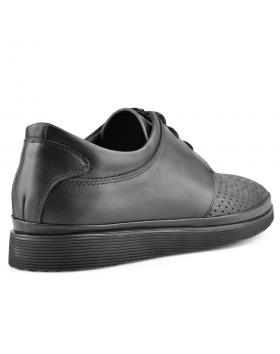Черни мъжки ежедневни обувки Nicomedes в online магазин Fashionzona