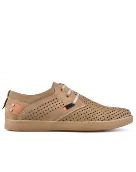 Кафяви мъжки ежедневни обувки Valentin в online магазин Fashionzona