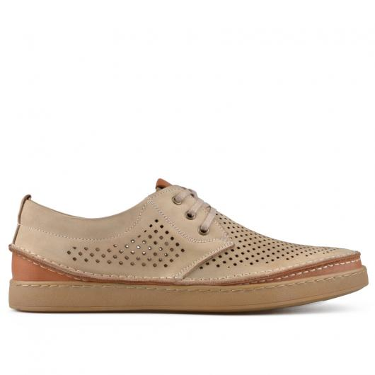 Бежови мъжки ежедневни обувки Eron