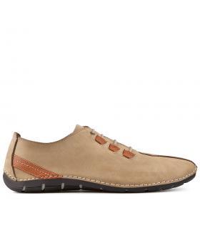 Бежови мъжки ежедневни обувки Abel в online магазин Fashionzona