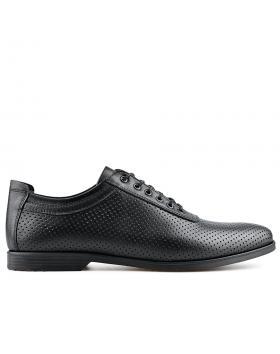 Черни мъжки елегантни обувки Elado в online магазин Fashionzona