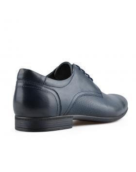 Сини мъжки елегантни обувки Emilio в online магазин Fashionzona