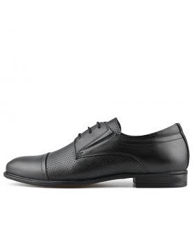 Черни мъжки елегантни обувки Epephanio в online магазин Fashionzona