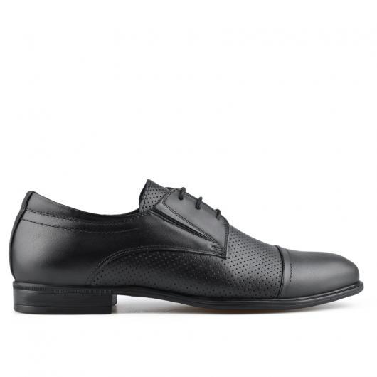 Черни мъжки елегантни обувки Epephanio