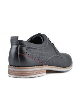 Черни мъжки елегантни обувки Arcadius в online магазин Fashionzona