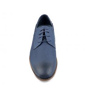 Сини мъжки елегантни обувки Allonzo в online магазин Fashionzona