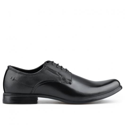 Черни мъжки елегантни обувки Plasedo