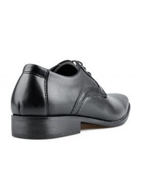 Черни мъжки елегантни обувки Jayde в online магазин Fashionzona