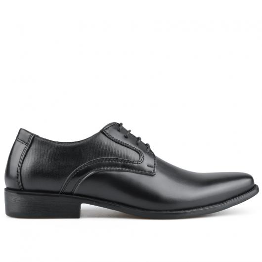 Черни мъжки елегантни обувки Jayde