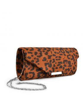 Кафява дамска елегантна чанта Dharani в online магазин Fashionzona