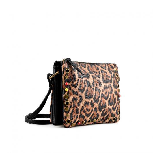 Кафява дамска ежедневна чанта Capree