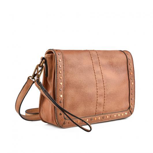Кафява дамска ежедневна чанта Jacquella